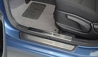 Накладки на внутренние пороги Hyundai Elantra MD / I30 II 2012-