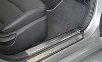 Накладки на внутренние пороги Hyundai Sonata 2010-