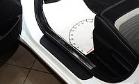 Накладки на внутренние пороги Kia Ceed SW JD / Ceed II 5D 2013-