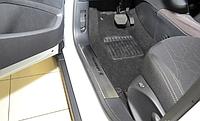 Накладки на внутренние пороги Peugeot  2008 / 208 5D 2013-