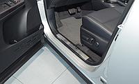 Накладки на внутренние пороги Toyota RAV-4 IV 2012-