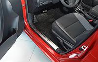 Накладки на внутренние пороги Toyota Corolla XI /AURIS II 2013-