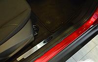 Накладки на внутренние пороги Ford Focus III 4 5D/ Focus III 5D FL 2011-/2015-