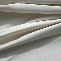 Однотонная ткань панама Песко, 60 % хлопок, цвет натуральный