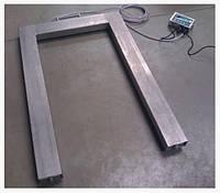Весы паллетные нержавейка ТВ4-300-0,1-U(1200х800х90)-N-12еh