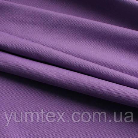 Однотонная ткань панама Песко, 60 % хлопок, цвет мальва