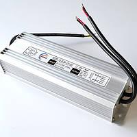 Влагозащищенный блок питания 220/12V  8,3A , 100Вт(190(220)*70*40мм) для светодиодных лент белого свечения