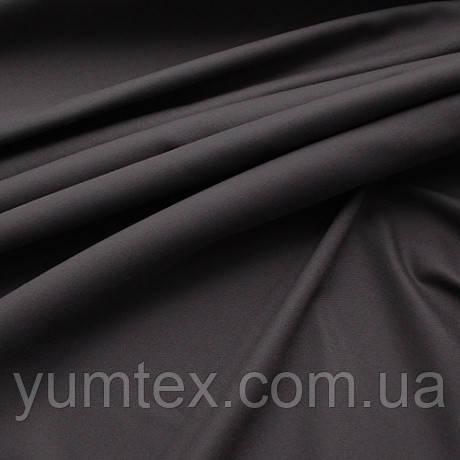 Однотонная универсальная ткань Келли, цвет графитовый