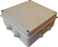 Коробки монтажные для наружной (открытой) установки 150х150х70мм P5 IP54 с 8-мью гермовводами