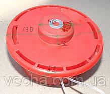 Катушка для триммера с кольцом (красная)