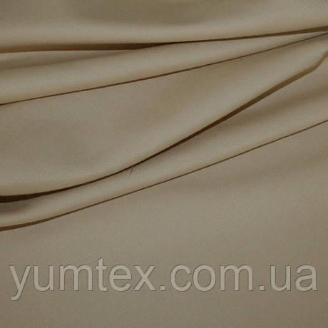 Однотонная универсальная ткань Келли, цвет беж+золото