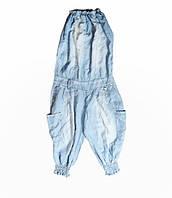 Комбінезон жіночий річний Dlf сині, фото 1