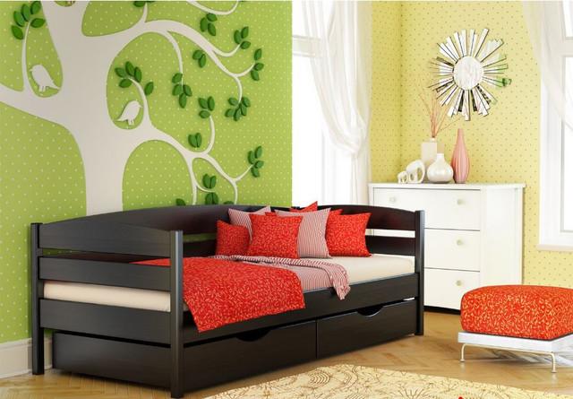 Кровать Нота Плюс (Бук) цвет №106 Венге