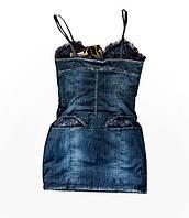 Платье женское джинсовое летнее Dlf