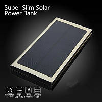 Зарядное устройство PowerBank cо встроенной солнечной батареей для Iphone, Samsung, Xiomi планшета