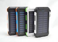 Портативный аккумулятор Power Bank EK-6 16800 mAh солнечный, фото 1