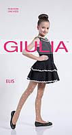 Капрновые колготки для девочек с цветочным рисунком TM GIULIA