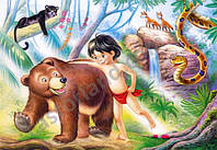Пазл Книга джунглей 60 деталей В-06229