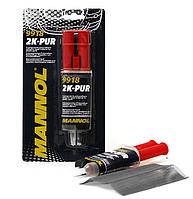 Двухкомпонентный клей для ремонта пластиковых поверхностей Mannol
