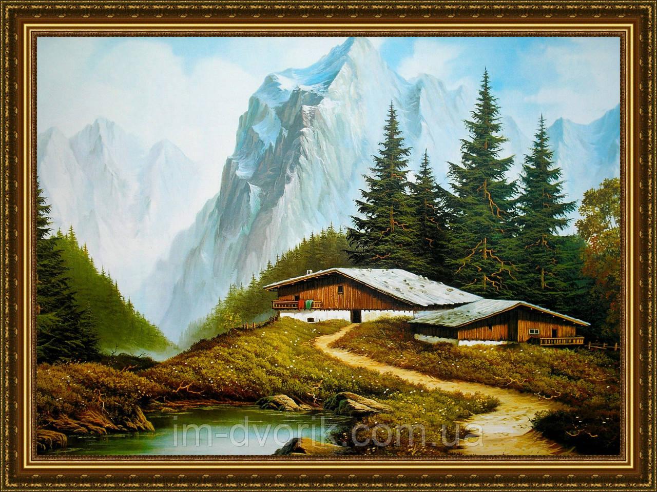 картина альпийская идиллия надую просто
