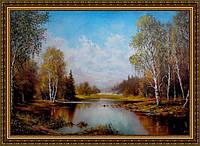 Картина Сентябрь 400х600мм №329 в багетной рамке