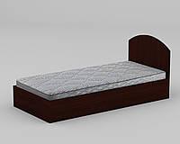 Кровать односпальная ламинированное ДСП