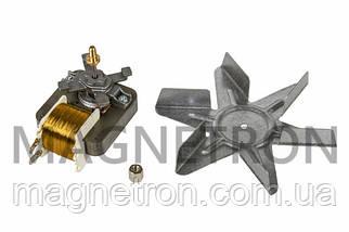 Двигатель вентилятора конвекции c крыльчаткой для духовки Whirlpool 481236118492, фото 3