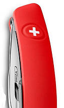 Уникальный швейцарский раскладной нож, 11 функций SWIZA D04 (401020), белый, фото 3