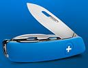 Надежный швейцарский нож для путешествий, 11 функций SWIZA D04 (401030), синий