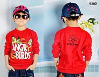 Кофта Angry Birds для мальчика. 110 см