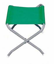 Стул раскладной с палаточной ткани прочный кемпинговый компактный стульчик