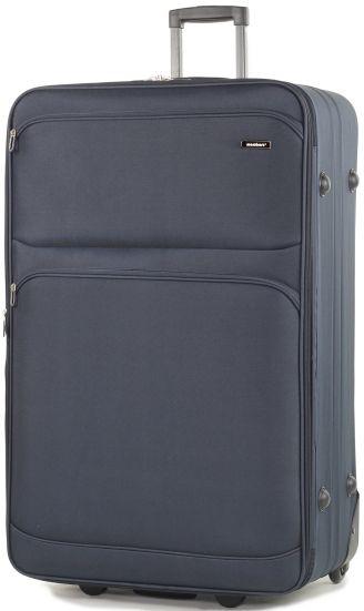 Объемный тканевый 2-х колесный чемодан 131 л. Members Topaz (XL), 922806 синий