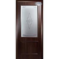 """Дверное полотно """"Вилла"""" В + Р1 Каштан 60 см"""