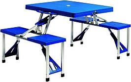 Стол трансформер походной стол чемодан для кемпинга стол + 4 стулья набор для пикника