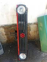 Решетка радиаторная Golf 2 / Гольф 2 (оригинал) на 2 фары без фар