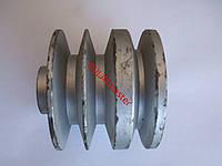 Шкив приводной трехручьевой на к/вал ф 25мм (диаметр 150мм)