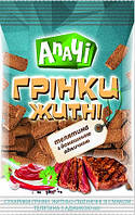 Грінки житні зі смаком телятина з аджикою, ТМ Апачі 70гр.