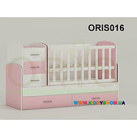 Кроватка-трансформер для новорожденного Maya Oris-mebel ORIS016