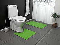 Коврик для ванной комнаты 2 шт.(салат)