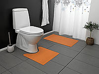 Коврик для ванной комнаты 2 шт.(оранж)