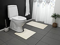 Коврик для ванной комнаты 2 шт.(натура)
