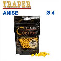 Воздушное тесто Traper Corn puff пуфи 4mm anise (анис)