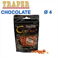 Воздушное тесто Traper Corn puff пуфи 4mm chocolate (шоколад)