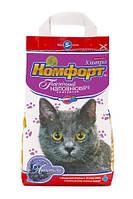 Наполнитель для кошачьего туалета Комфорт Ультра Лаванда 5 кг komf021