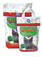 Наполнитель для кошачьего туалета Комфорт Компакт 5 кг komf025
