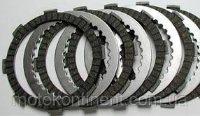 Диски сцепления фрикционные и стальные Ferodo FE FCS0671/2