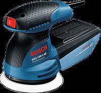 Ексцентр. шліфмаш. Bosch GEX125-1AE Prof. (250Вт; 125мм; 7500-12000об/хв) 0.601.387.500