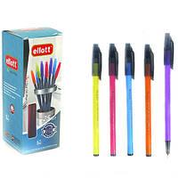 "Ручка масляная 2210 ""Ellott"" корпус-микс цветов (3Q-0.7mm)"