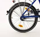 Складний велосипед MIFA 20 blau Nexus 3 Німеччина, фото 3