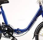 Складний велосипед MIFA 20 blau Nexus 3 Німеччина, фото 5